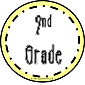2nd Grade Badge