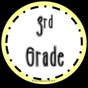 3rd Grade Badge