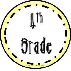 4th Grade Badge