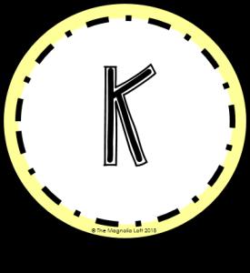 Kindergarten Grade Badge